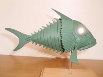 Stingray Terror Fish GRP Model Kit